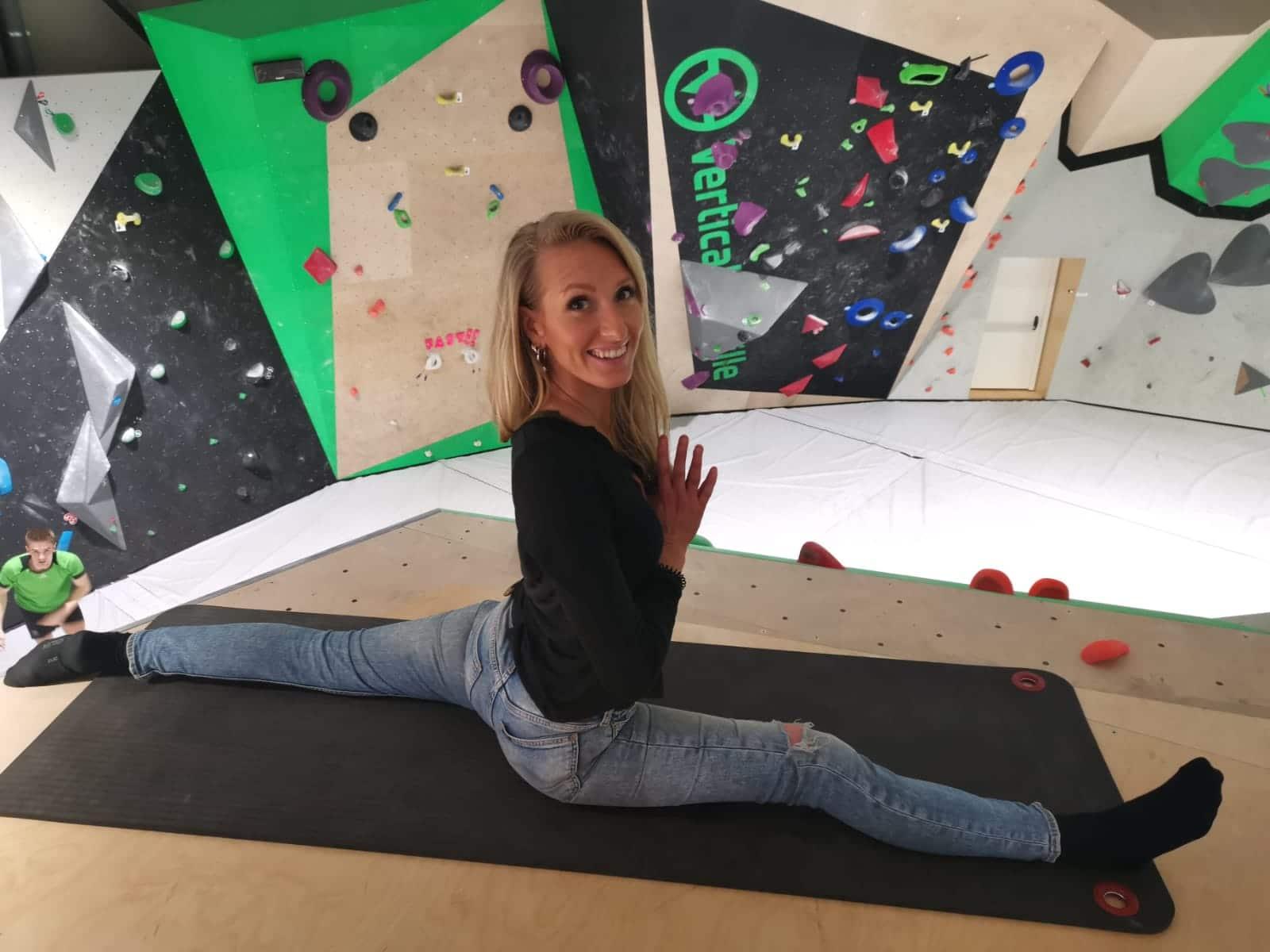 yoga salle d'escalade Vertical'Art Lille